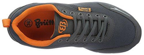 Brütting 591184, Baskets Basses Mixte Adulte Gris (Grau/Orange)
