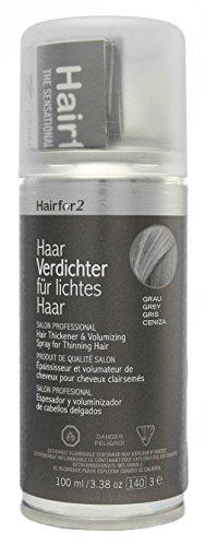 Hairfor2 Haarverdichtungsspray grau, 1er Pack (1 x 100 g)