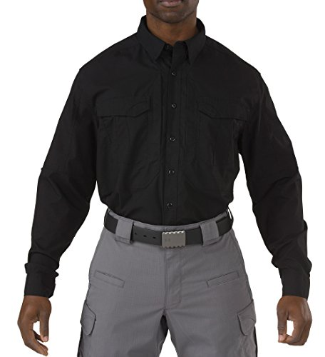 5.11 Tactical Series 511-72399 Chemise Homme, Noir, FR : 3XL (Taille Fabricant : XXXL)