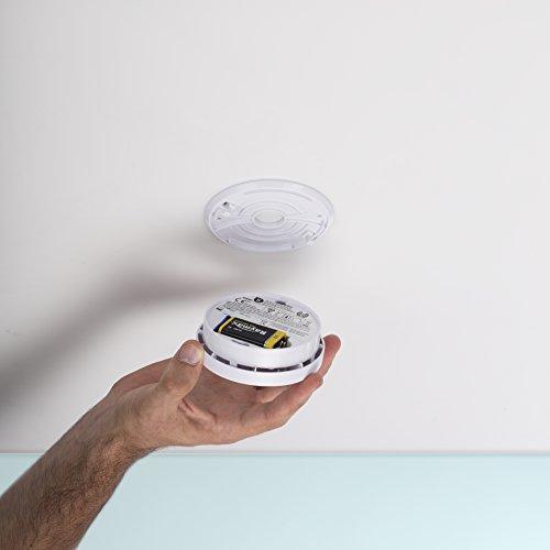Smartwares TÜV Rauchmelder / Brandmelder, DIN EN 14604, reinweiß, RM149_1J - 16