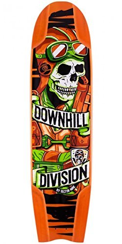 Sector 9 Bomber Downhill Division Longboard Skateboard Deck With Grip Tape by Sector 9 -