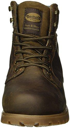 Dockers by Gerli Herren 35ve001-400320 Combat Boots Braun (Cafe 320)