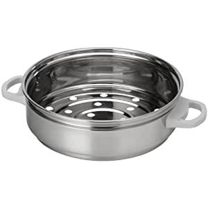 AROMA RS-03 6-Cup Simply Stainless Steamer for Cookware