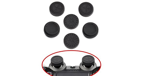 cd6927455 ButterFox Thumb Grips 6 Pack for PS4 Controllers (PlayStation 4):  Amazon.co.uk: PC & Video Games