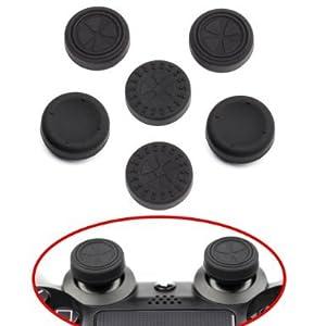 ButterFox Control Stick Aufsätze/ Joystick 6 Pack für PS4 Controllers (PlayStation 4)