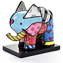 ROMERO BRITTO - Elefant India auf Podest - lim. Auflage 4000 weltweit - Pop Art Kunst aus Miami #334305