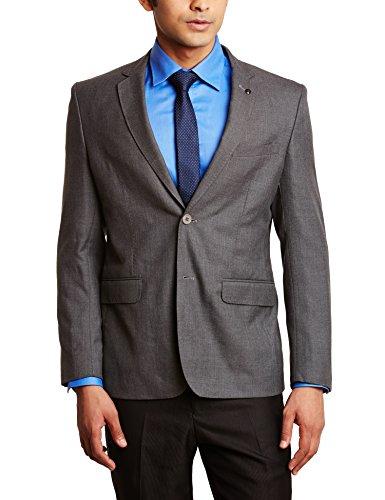 Van Heusen Men's Slim Fit Blazer (8907271593779_VHBZ1M03832_36_Medium Grey Solid)  available at amazon for Rs.3999