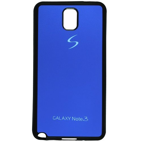 Casotec TPU Back Case Cover for Samsung Galaxy Note 3 - Dark Blue  available at amazon for Rs.99