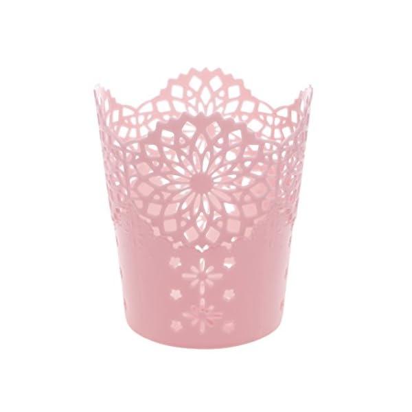 Lagand – Portalápices hueco con forma de flor, para guardar lápices, lapiceros, maceteros, escritorio, organizador…