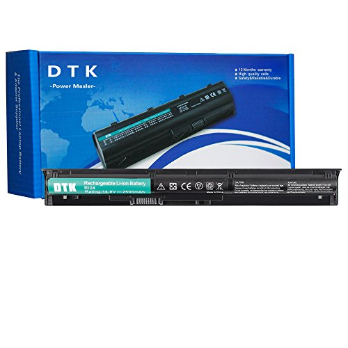 DTK RI04 RI06XL HSTNN-DB7B 805294-001 805047-851 Akku für HP ProBook 450 G3 G4 Series,455 G3 G4 Series,470 G3 G4 Series Notebook Laptop Li-ion Batterie (14.8V 2500mAh 4-Cell)