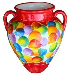 Cactus Canyon Keramik-Blumentopf für die Wand, Motiv: spanische Wand Tinaja - Bubbles! - Canyon Keramik