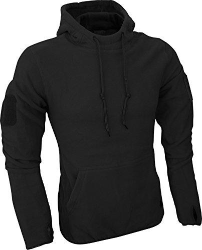 Viper Hommes Tactique Molleton Hoodie Noir taille L