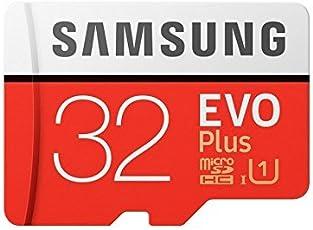 VSP - Enterprises Samsung Evo Plus Grade 1, Class 10 32GB MicroSDHC 95 MB/S Memory Card with SD Adapter (MB-MC32GA/IN)