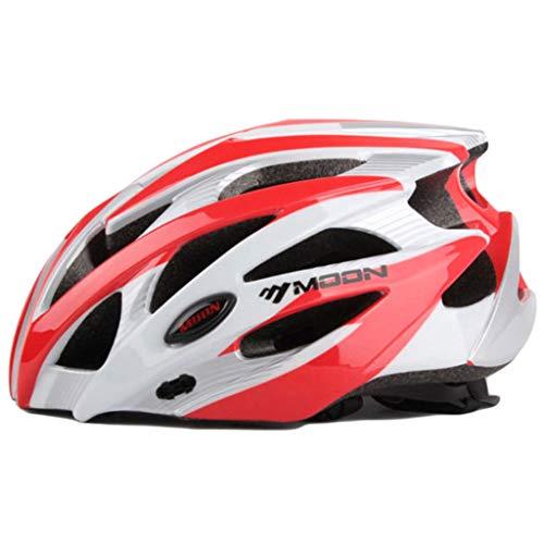 wthfwm Fahrradhelm Rennradhelm Sportschutzhelm Unisex Verstellbarer Helm Mountainbike-Helm,I-L(58/61cm)