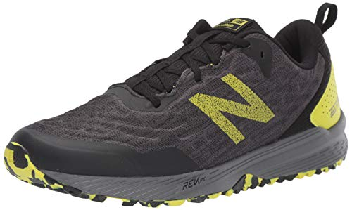 New Balance Trail Nitrel, Zapatillas de Running para Asfalto para Hombre, Negro Black/Yellow Black/Yellow...