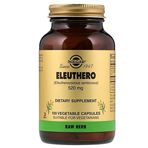 Solgar Ginseng Siberiano 520 mg Cápsulas vegetales - Envase de 100