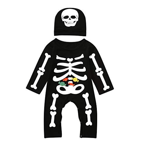 Livoral Mädchen Kleid Halloween Kinderkleidung Kinder Cosplay Performance Bühnenkostüme, geeignet für Mottopartys, Rollenspiele,S(Schwarz,90)