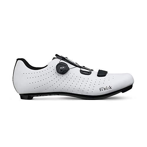 Fizik Tempo Overcurve R5 Rennradschuhe weiß/schwarz Schuhgröße EU 44 2020 Rad-Schuhe Radsport-Schuhe