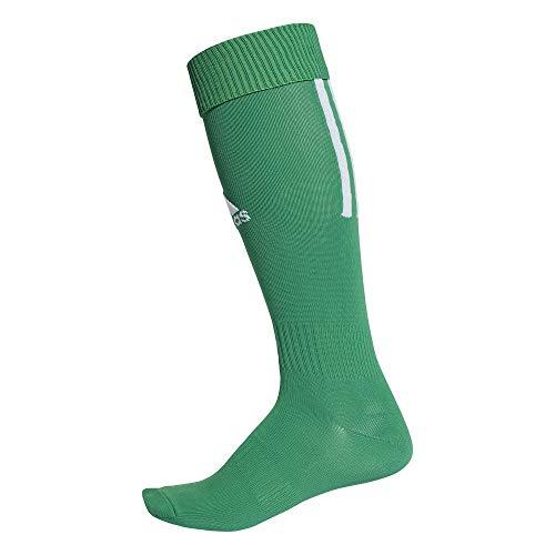 adidas Erwachsene Santos 18 Socken, Bold Green/White, EU 43-45