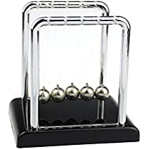 Dragon868 Physics Science Accessory Desk Toy Newton's Cradle Steel Balance Balls