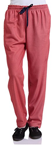 Free Runner Women's Nightwear Bottom (SB708--L, Red, Large)