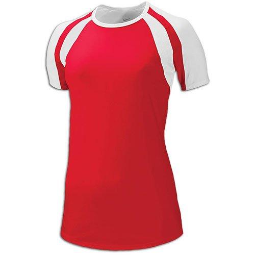 Nike Women's Court Warrior Jersey Scarlet XS