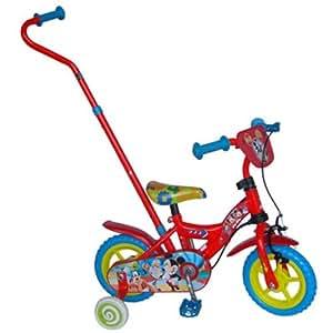 Gueydon Jouets - MIC1002J-CA - Jeu de Plein Air - Vélo Mickey - 10 Pouces