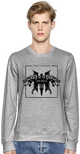 Within Temptation Hydra Unisex Felpa Unisex Sweatshirt Men Women Stylish Fashion Fit Custom Apparel By Genuine Fan Merchandise Small