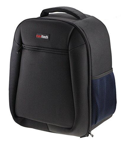 Navitech Schwarz Dauerhaft A4 Tragbarer mobiler Scanner Rucksack Tasche Schutz hülle für den Epson XP8500 Printer/Scanner