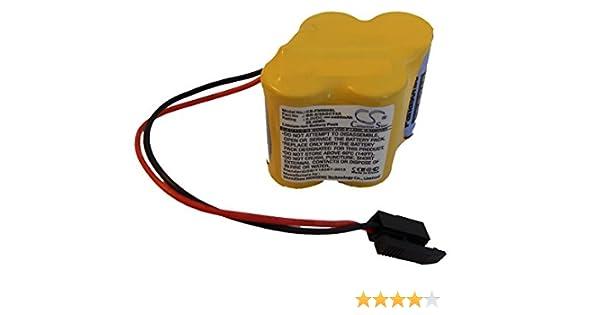 Akku Batterie 4400mAh für GE FANUC Amplifier BETA iSVSPc