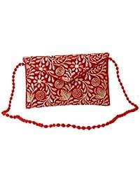 Homeart9 Women's Sling Bag (Embridered Handicraft Traditional Sling Bag,Multi-Coloured) - B077GYLRY5