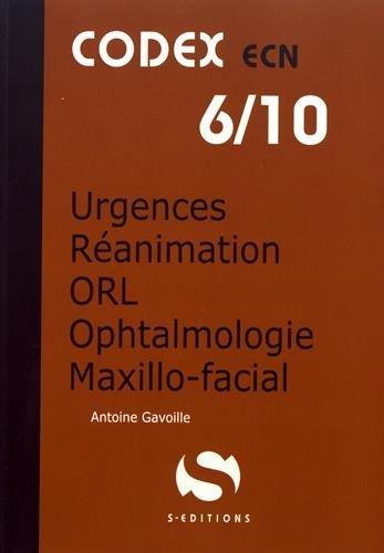 Urgences - Réanimation - ORL - Ophtalmologie - Maxillo-facial
