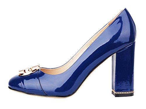 NIUERTE NIUERTEWife - A Collo Basso donna Blue Patent