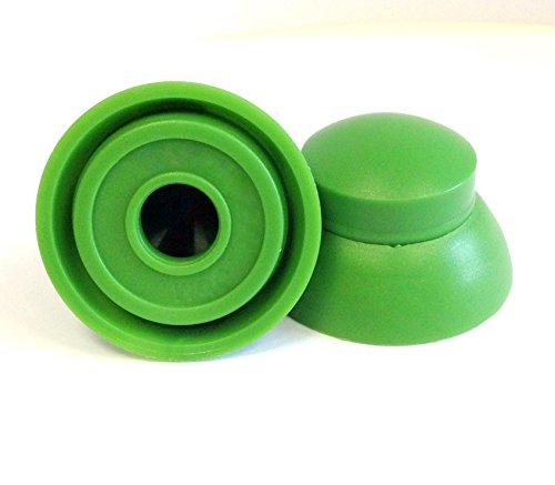 Paquete de 25 tapones de tuerca y perno M6, M8, M10, M12; ideales para uso en parques infantiles; cubiertas de tuerca de sellado, M10, 1