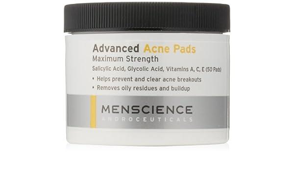 Menscience Advanced Acne Pads - 50pads Fresh Rose Face Mask 3.3 oz