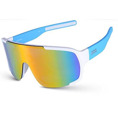 fa7bd0314e75c3 DFGHJJOP Reitbrille Radsport-Brillen Polarisiertes Licht UV400 Schutz Sport- Sonnenbrillen Winddicht HD Reiten Fahren
