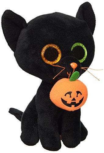 Beanie Boo Halloween Cat - Shadow - 15cm 6""