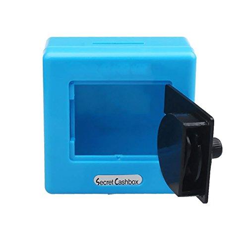 dose Code Safe Münzen Sparen Sparschwein Geschenk Einheitsgröße blau (Kunststoff-sparschweine Für Kinder)