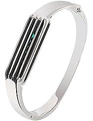 Fitbit Flex 2 montre de sport Band, accessoire de mode Bracelet pour Fitbit Flex 2 (Argent)