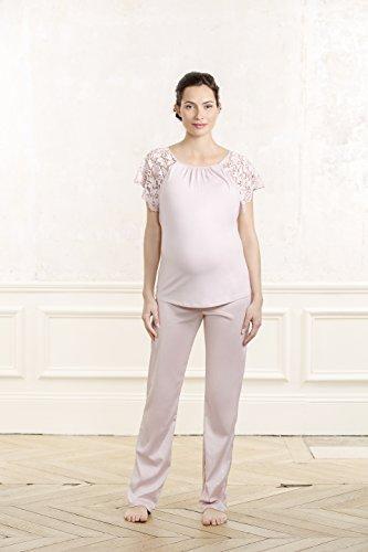 Cache Coeur Damen Schlafanzughose Sofia Rosa (Blütenblatt)