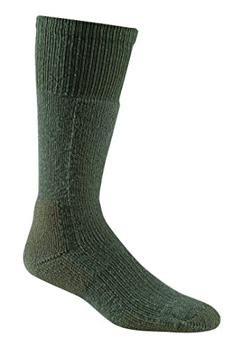 Fox River Erwachsene Militär Thermo Merino Wolle kaltem Wetter, Wadenhohe Stiefel Socken, damen unisex, Laubgrün (Fox Socks Wool)