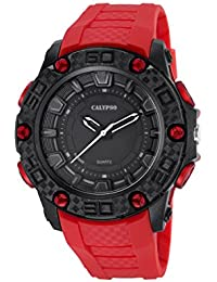 2b01fc4ab15c Calypso Watches Reloj Digital para Hombre de Cuarzo con Correa en Caucho  K5699 2