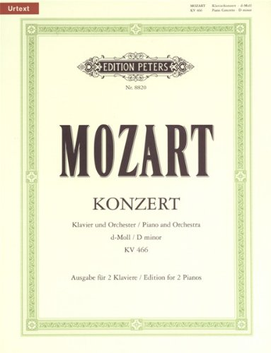 Concert 20 d Kv466  Piano
