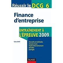 Réussir le DCG 6 : Finance d'entreprise