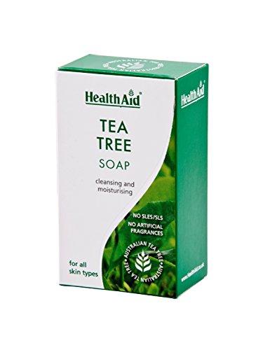 HealthAid - Jabón para árbol de té, 100 g