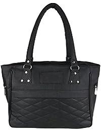 SAHAL PU Black Shoulder Bag for Women