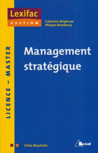 Management stratégique par Ulrike Mayrhofer