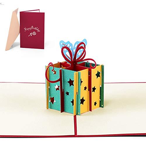 Biglietto compleanno 3d biglietto auguri san valentino pop up biglietto d'auguri biglietto auguri 3d biglietto di auguri pop-up pop up valentine's day thank you birthday card