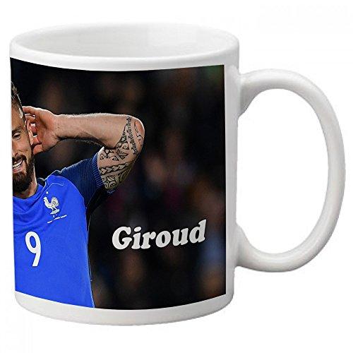 Mug Olivier Giroud France - Vendu exclusivement par Kadomania