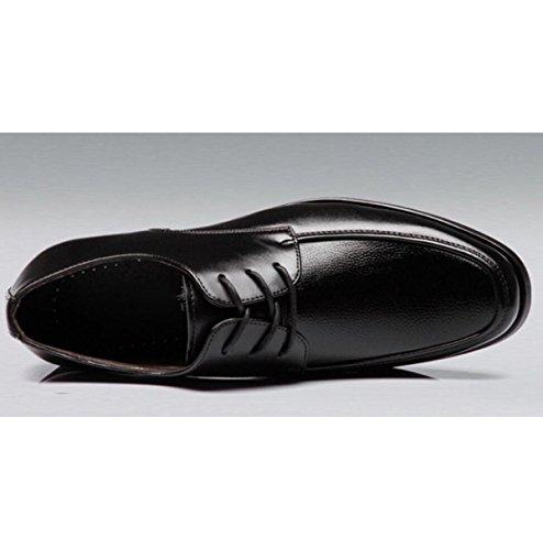 Affari Uomo Formale Lavoro Da Uomo Scarpe Pizzi Singole Scarpe Scarpe Scarpe Uomini Da In Da Scarpe Pelle Black Abbigliamento nXqFx6Bt8w